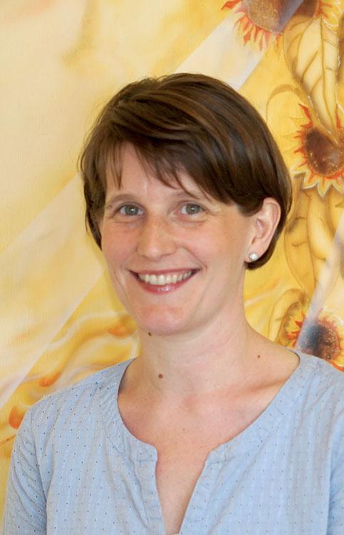 Physiotherapeutin Kathrin Schneider